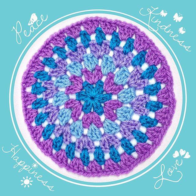 queen_babs crochet granny circles