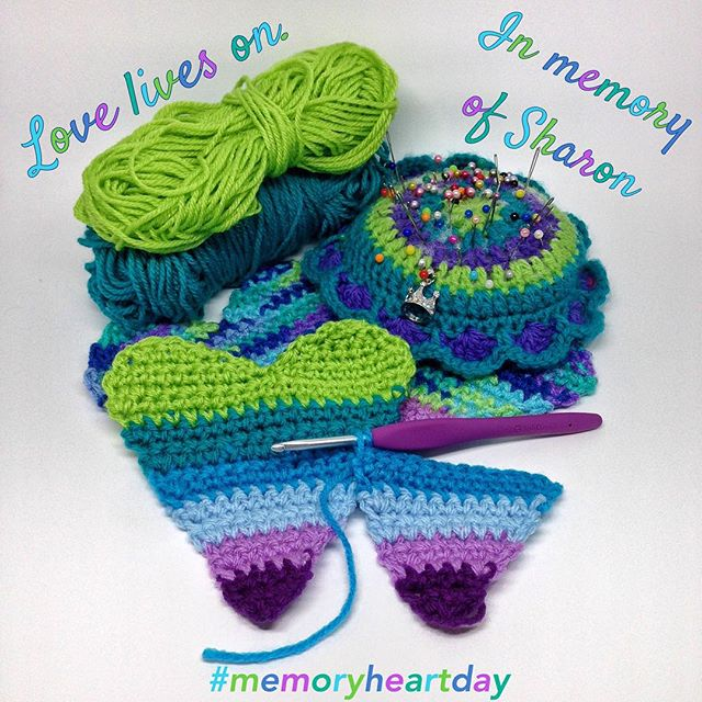 queen_babs memoryheartday crochet