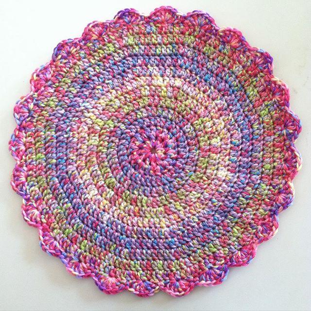 quiltwrapup crochet mandala