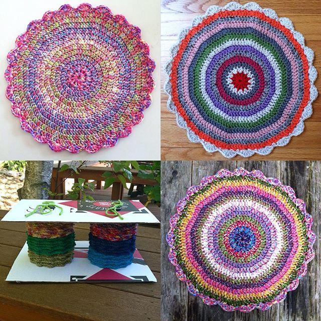 quiltwrapup crochet mandalas