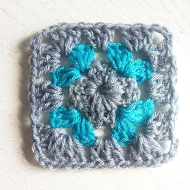 rachelsfantasyisland crochet granny square