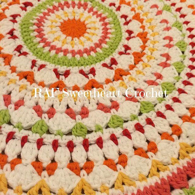 rafsweetheart crochet mandala