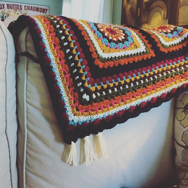 raimarie16 crochet granny blanket