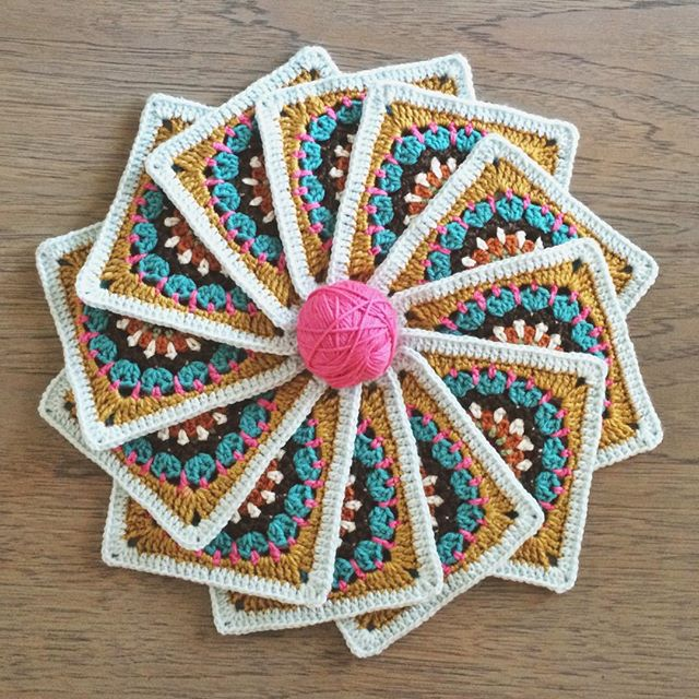 raimarie16 crochet pinwheel