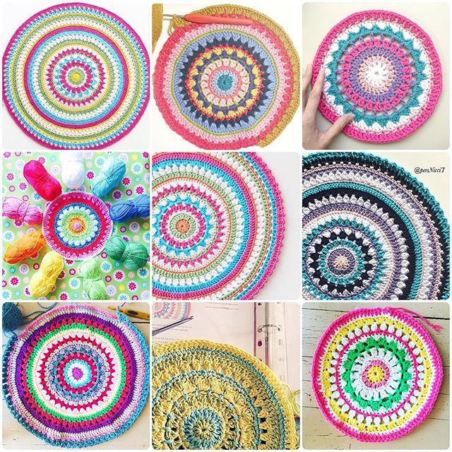 redagape_styleanddesign crochet mandalas