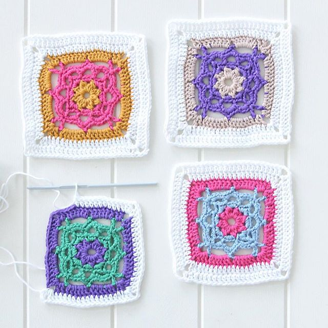 redagape_styleanddesign crochet squares