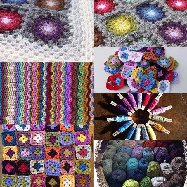 scarlettrose112 crochet august collage