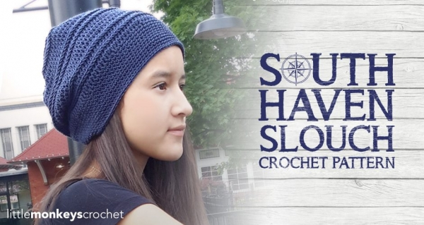 slouch haven slouch free crochet hat pattern