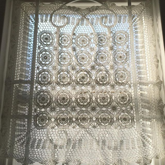 stelcrochet crochet curtain