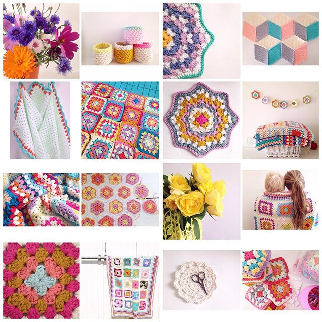 sweet_sharna crochet august collage