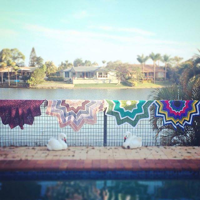 thatgirlwhocrochets crochet ripple blankets