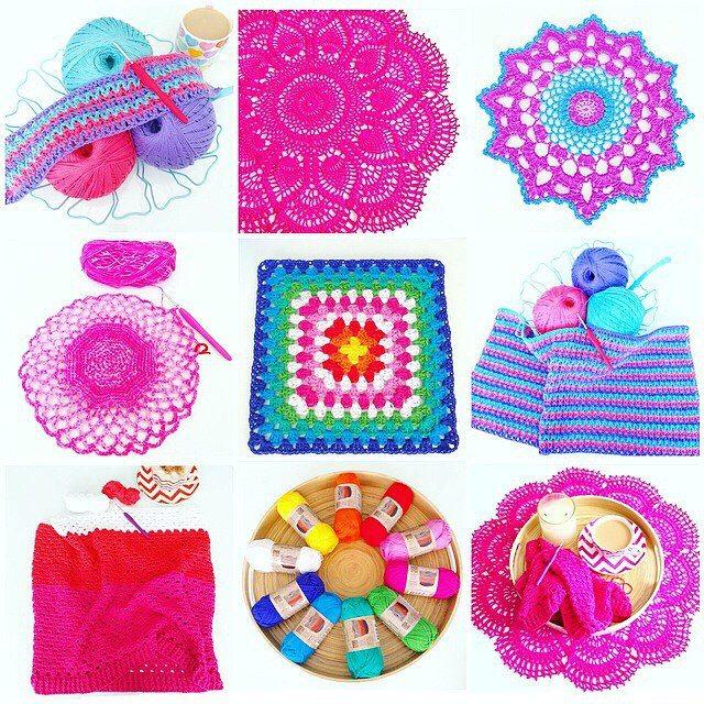 vanessakind crochet collage
