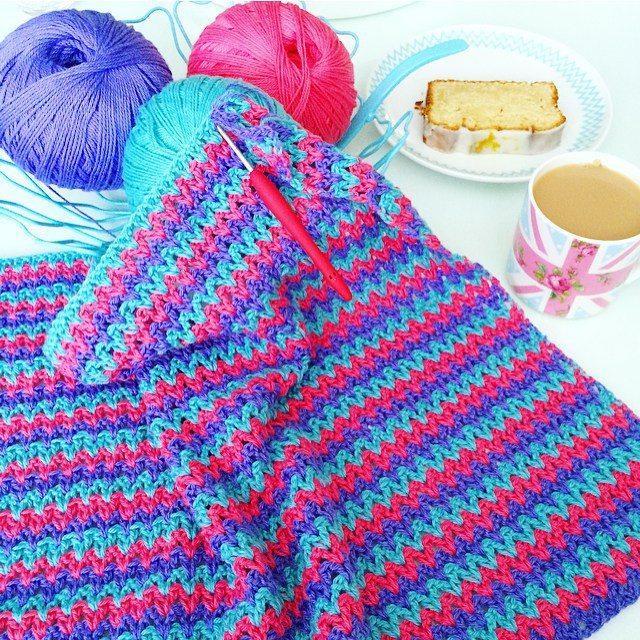 vanessakind v stitch crochet