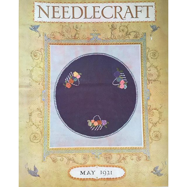 vintage 1921 crochet magazine