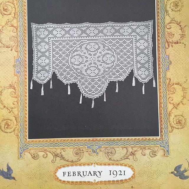 vintage 1921 crochet magazines