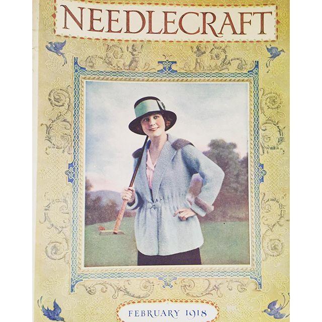 vintage crochet 1918 magazine