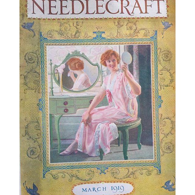 vintage crochet magazine 1919