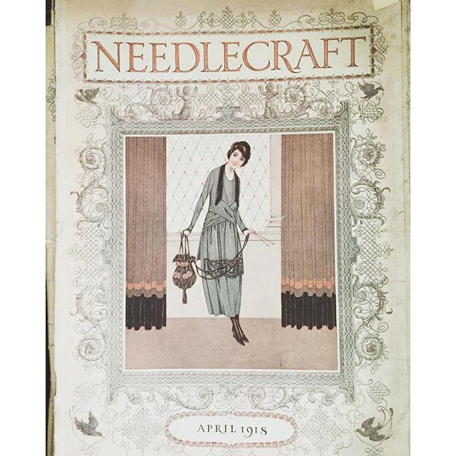 vintage crochet magazines 1918