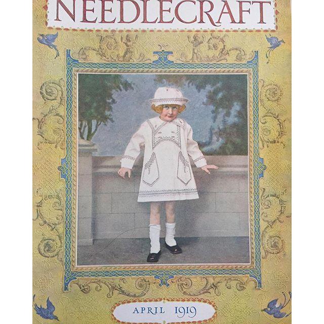 vintage crochet magazines 1919