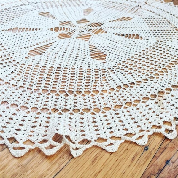 vintage doily