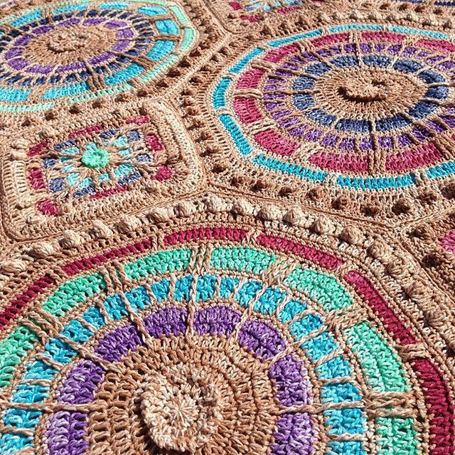 wrappedwithlovebymichelle crochet summer mosaic mystery cal