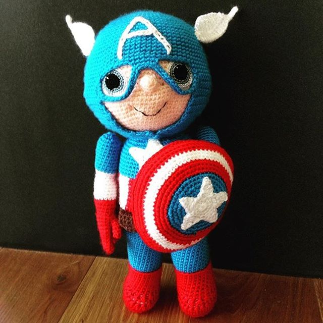 wrappedwithlovebymichelle crochet superhero