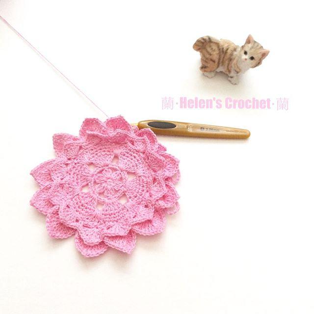 xiaowawa.wasabi crochet flower