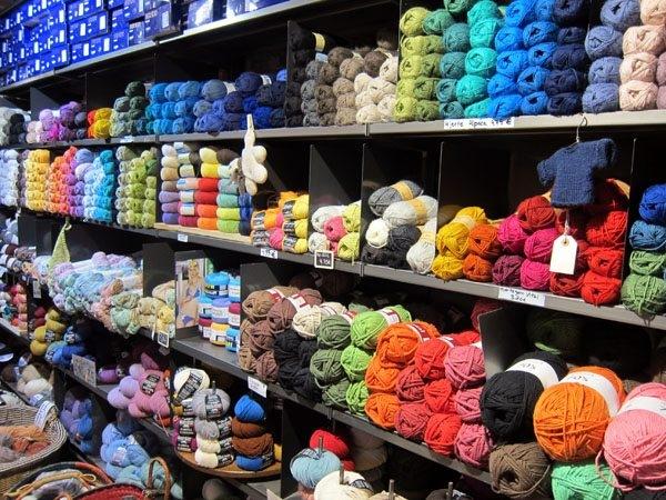 yarn store in barcelona