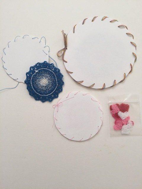 Pamela crochet mandala packaging