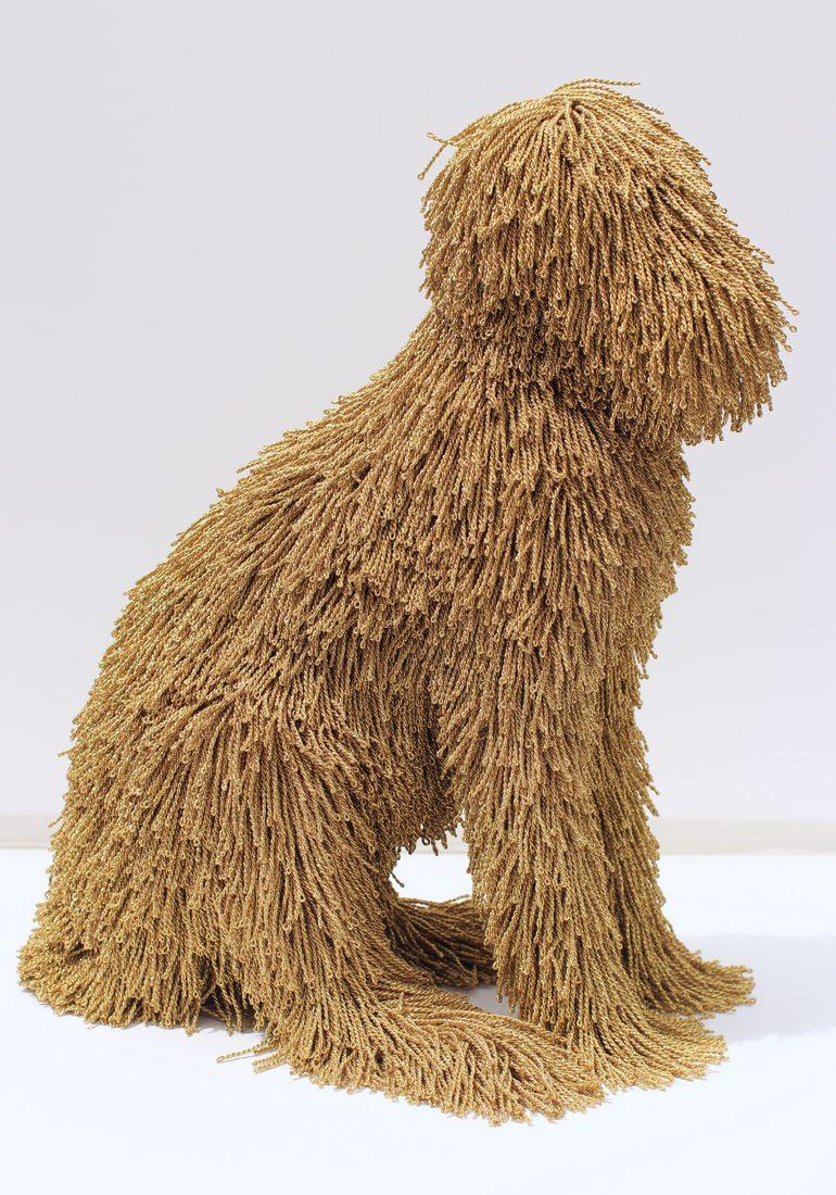yarndermy art dog