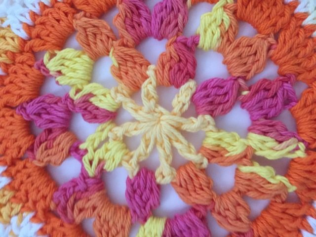 abby call crochet mandala detail