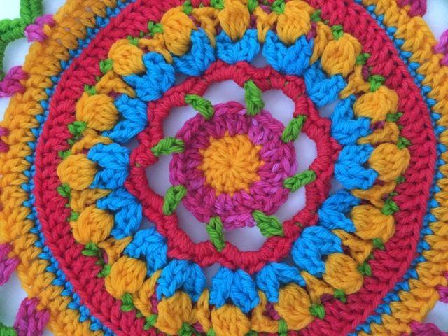 annie crochet mandala + WRAP plan