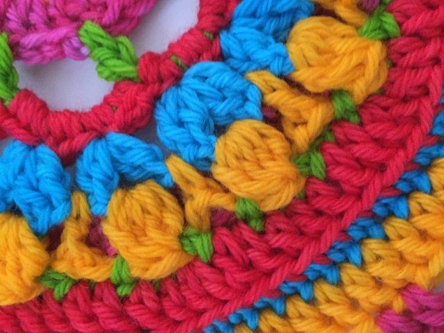 annie crochet mandala detail