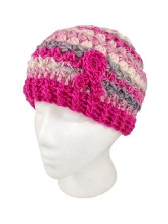 breast cancer free crochet hat pattern