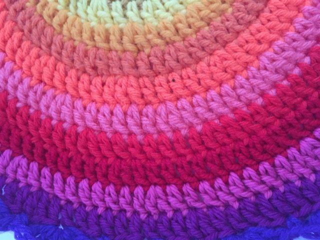cait crochet mandala detail