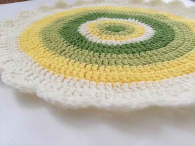 cait flat crochet mandala