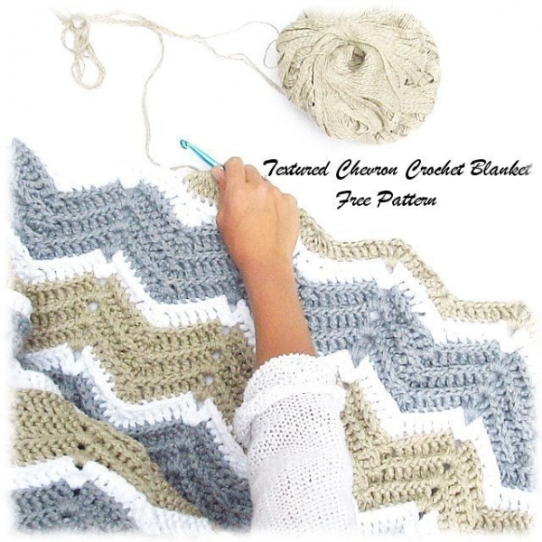 30+ Chevron Crochet Patterns – Crochet Patterns, How to, Stitches ...