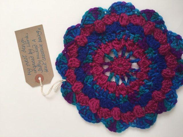 classybird crochet mandala