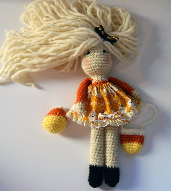 crochet art doll
