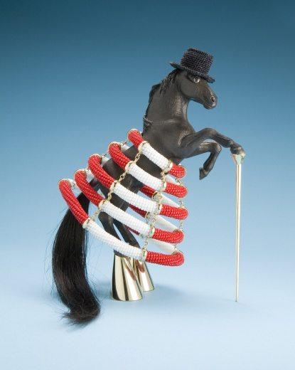 crochet horse felieke van der leest