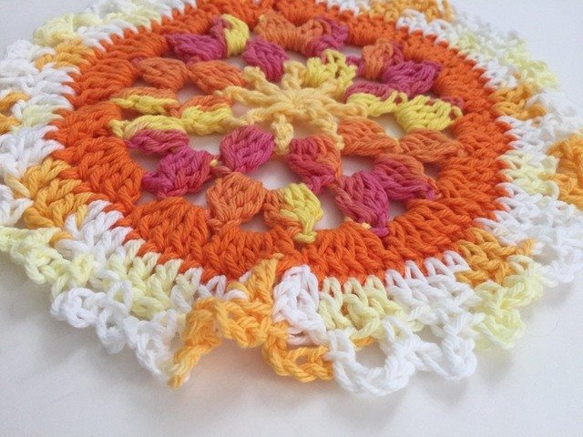 crochet mandala by abby call
