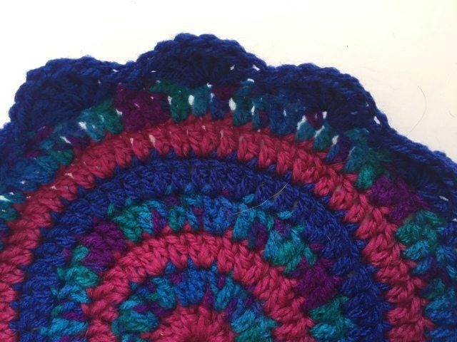 crochet mandala by classybird