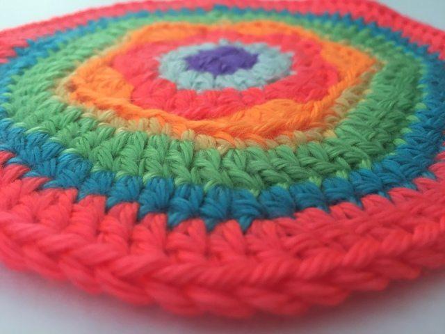 crochet mandala by lani