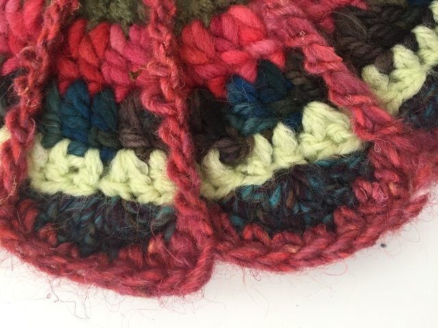 crochet mandala by mackenzie