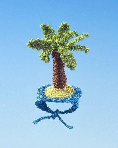 crochet palm tree ring by felieke van der leest