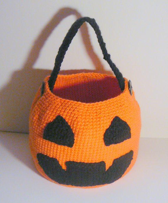 crochet pumpkin basket pattern