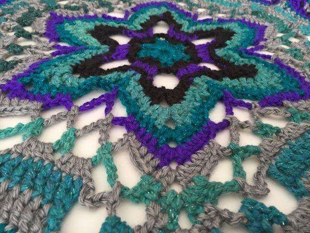 crochet star mandala for marinke from lydia