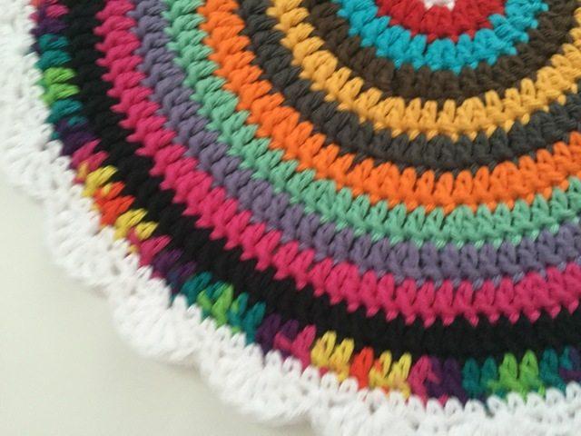 divina crochet mandala