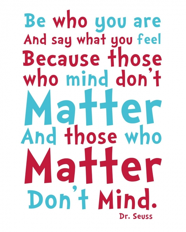 dr. seuss mind matter quote