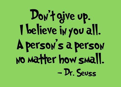 dr. seuss suicide quote